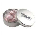Custom Imprinted Round Tin w/Starlight Peppermints