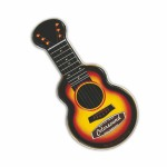 Logo Branded Gold Acoustic Guitar Shaped Mint Tin