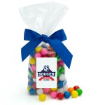 Large Clear Candy Bags Logo Branded