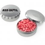 Small Push Top Tin - Mini Mints Custom Printed