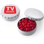 Small Push Top Tin - Red Hots Custom Imprinted