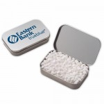 Large Hinged Tin - Mini Mints Custom Imprinted