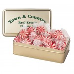 Logo Branded Large Rectangle Tin - Starlight Mints
