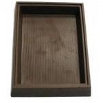 Custom Imprinted 8.96 Oz. Chocolate Candy Box Base Medium W/Narrow Stripes