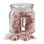 Jar w/Starlight Peppermints Custom Imprinted
