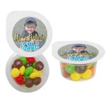 Small 4 Color Cup of Candy w/B Fill Logo Branded