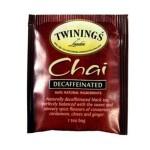 Logo Branded Twinings of London Decaffeinated Chai Tea