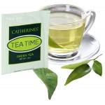 1.5 Oz. Individual Green Tea Bag (Direct Print) Logo Branded