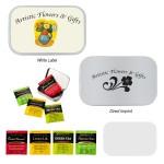 Compact Tea Tin Custom Printed