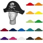 Logo Branded Foam Pirate Hat