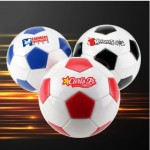 Logo Branded Official Size 5 Soccer Ball w/Dual Print Panel