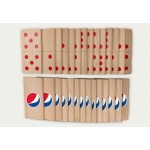 Giant Custom Branded Dominos 28 Game Pieces Game Logo Branded