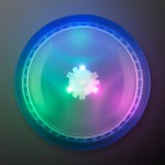 Custom Printed Light Up Flying Disc Toy