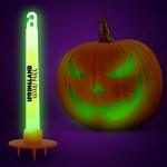 Custom Green Glow Pumpkin Light