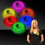 "Promotional 3"" Circle Shaped Glow Badges"