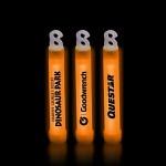 "Promotional 4"" Premium Orange Glow Stick"