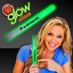 "Custom 10"" Green Glow Stick"