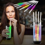 Custom Glow Motion Straws (Variety of Colors)