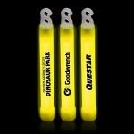 """Custom 6"""" Premium Yellow Glow Stick"""