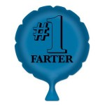 #1 Farter Whoopee Cushion Logo Branded