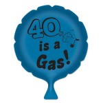 """Logo Branded """"40"""" Is A Gas! Whoopee Cushion"""