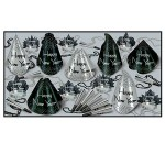 Custom Imprinted Sparkling Silver New Year Assortment For 50 People