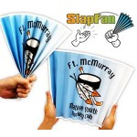 14 Pt. Laminated Paper SlapFan Logo Branded
