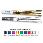"""Logo Branded 6"""" Squawkers Fringed Party Horns w/ Custom Direct Pad Print"""