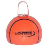 "4"" Premium Basketball Bell Custom Imprinted"
