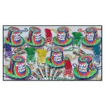 Tie-Dyed Collection New Year Assortment for 50 Custom Printed