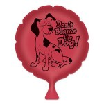 Logo Branded Don't Blame The Dog Whoopee Cushion
