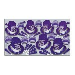 Purple Passion New Year Assortment For 50 Custom Printed