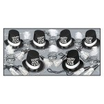Custom Printed Top Hat & Tails New Year Assortment For 50