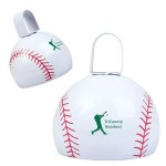 Baseball Cow Bell Logo Branded