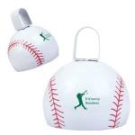 Baseball Cow Bell Custom Printed