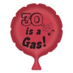 "Custom Printed ""30"" Is A Gas! Whoopee Cushion"
