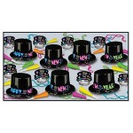 Custom Imprinted Neon Party New Year Assortment for 25