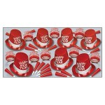 Custom Printed Simply Red New Year Assortment For 50