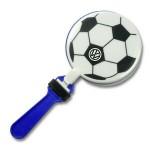 """Logo Branded 7"""" Soccer Clapper"""