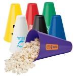 Logo Branded Megaphone Popcorn Holder