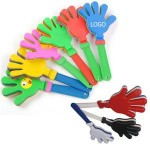 Plastic Hand Clappers Logo Branded