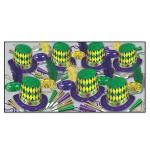 Custom Imprinted Mardi Gras Asst For 50