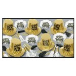 The Gold Rush New Year Assortment For 50 Custom Printed
