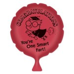 You're One Smart Fart! Whoopee Cushion Custom Printed