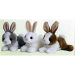 "8"" Baby Bunny Stuffed Animals Logo Printed"