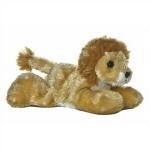 """Custom Imprinted 8"""" Lionel Lion Mini Flopsie Stuffed Animal"""