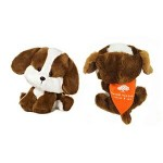 """Custom Personalized 6"""" Bell WB Dog with bandana and one color imprint"""