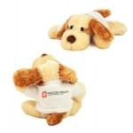 "Custom Imprinted 8"" Scruff Dog Stuffed Animal w/T-Shirt & Full Color Imprint"