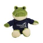 "6"" Lil' Alligator Stuffed Animal w/T-Shirt & One Color Imprint Custom Imprinted"