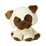 "6"" Poppy Pug Dog Custom Imprinted"